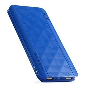 ipro ip84 8400mah lithium polymer power bank blue