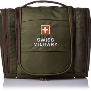 swiss military green toiletry bag tb 2