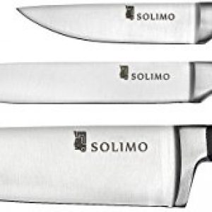 amazon brand solimo premium high carbon stainless steel kitchen knife set