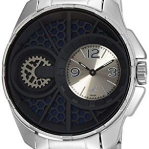 fastrack analog silver dial mens watch nk3133sm01