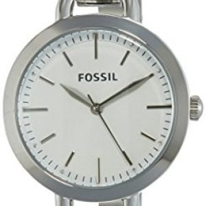 fossil analog silver dial womens watch bq3025 1