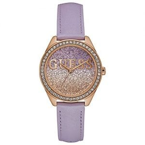 guess analog gold dial womens watch w0823l11 1