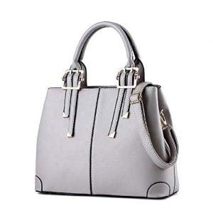 hot stylish pu handbag ladies bag sling bag women handbag grey 1
