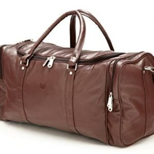 mboss leather 5334 cms brown travel duffle tb 001 brown single 3