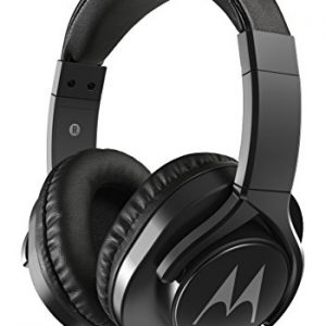 motorola pulse 3 max wired headphones black