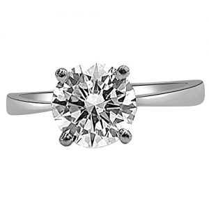 surat diamond 925 sterling silver and diamond solitaire ring