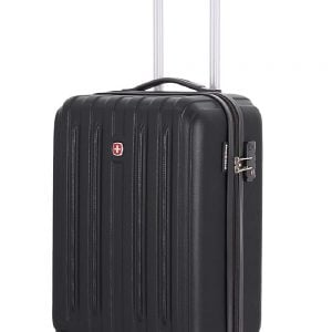 swiss gear polycarbonate 19 inches black hardsided cabin luggage sw30000202154 1
