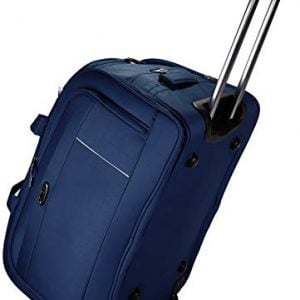 thames polyester 55 cms travel duffel bag cabin bag blue