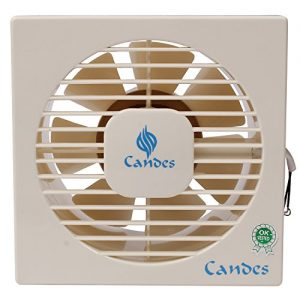 candes 100mm copper winding exhaust fan ivory