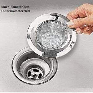 skywalk stainless steel mini sink filter strainer for kitchen drain small