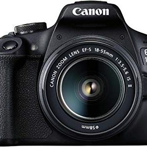 canon eos 1500d 241 digital slr camera black with ef s18 55 is ii lens