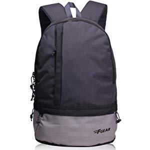 f gear burner gb 26 ltrs dark grey casual laptop backpack 2449