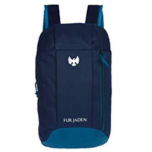fur jaden hiking camping rucksack casual backpack 10 ltrs bm43blue