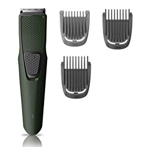 philips bt121215 usb charging cordless rechargeable beard trimmer