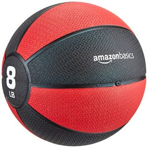 amazonbasics medicine ball 363kg red