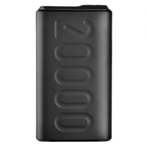 ambrane 20000mah lithium polymer power bank stylo 20k black