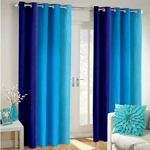 generic polyester blend swisstic texture long crush solid window curtains