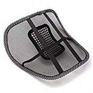 generic unbranded cbrne mesh ventilation back rest with lumbar support