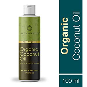life pursuits usda certified organic cold pressed virgin coconut oil 100 ml