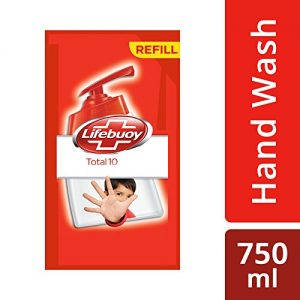 lifebuoy total 10 active silver formula hand wash 750 ml