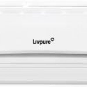 livpure 15 ton 5 star split inverter ac with wi fi connect white