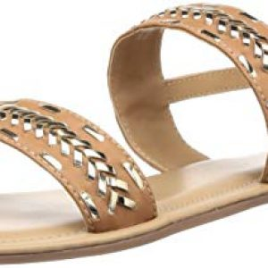 mode by red tape womens mrl1093 tan fashion sandals 4 uk 37 eu mrl1093 37