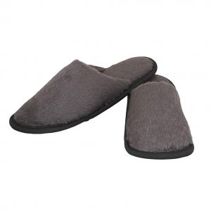old cobbler unisex grey fur flip flops house slippersfree size