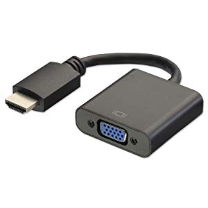 terabyte hdmi to vga converter adapter cable black