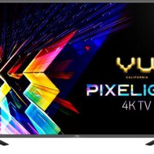 vu pixelight 138cm 55 inch ultra hd 4k led smart tv with cricket