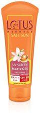 Lotus Herbals Safe Sun UV Screen Matte Gel